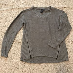 Quinn knit sweater with slit up the sides size M